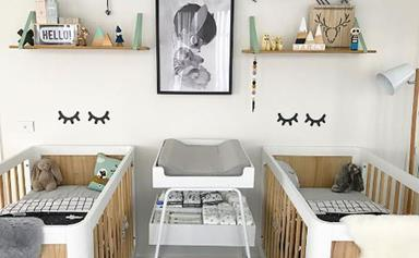 Bec Judd give us a tour of her twins' nursery