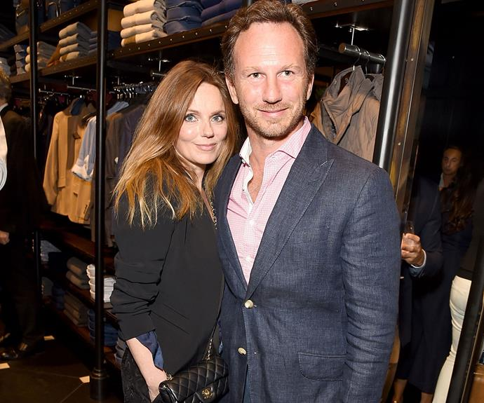 Geri Halliwell pregnant at 44 and thanks Mother Nature