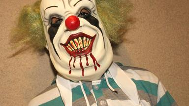 Police on alert for suspected clown gathering at murder site of 'The bow and arrow butcher'