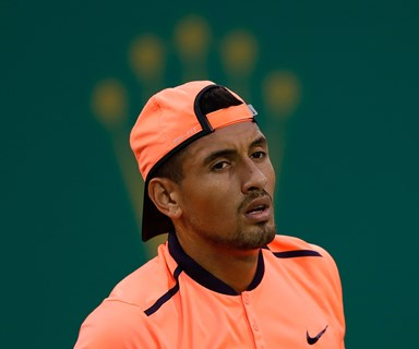 Nick Kyrgios banned from pro tennis tour