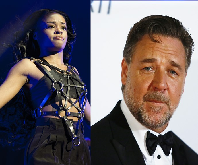 Russell Crowe accused of assault by US rapper Azealia Banks