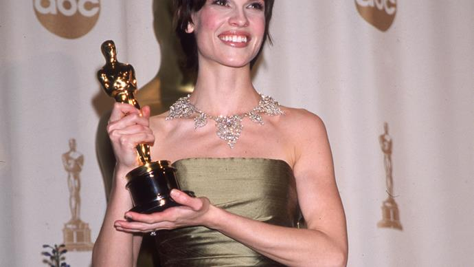 This is how little Hilary Swank made for her Oscar-winning role in Boys Don't Cry