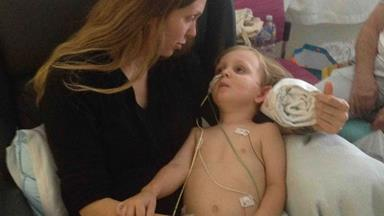 """""""My strong little boy"""": Mum's tribute to her toddler bitten three times by snake"""