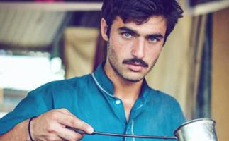 Pakistani tea merchant becomes internet sensation, gets modelling contract