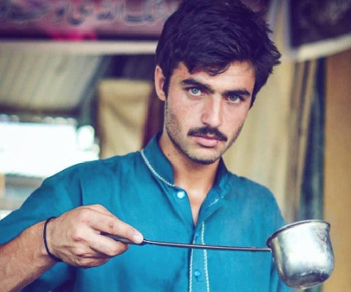 Pakistani tea merchant becomes internet sensation, gets modelling contract