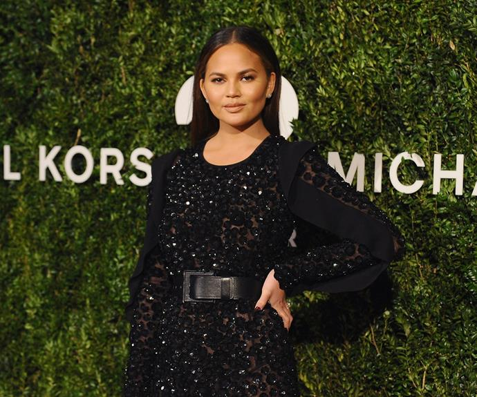 """**7. Chrissy Teigen on good ol' fashioned feminism...** """"People have sorely messed up the definition of feminism. It isn't saying this is wrong and this is right. It's having the power to do whatever the f*** you want. It's about having your own beliefs and staying true to them."""""""