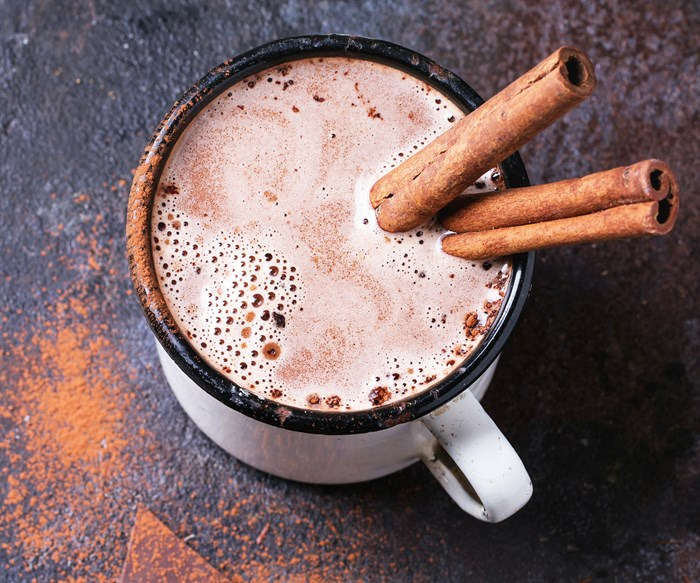 You guys, red wine hot chocolate is totally becoming a thing