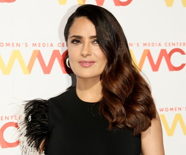 Salma Hayek just made a pretty damning accusation against Donald Trump