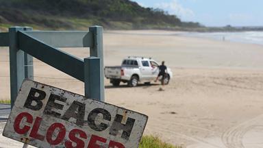 Shark attack on surfer near Byron Bay