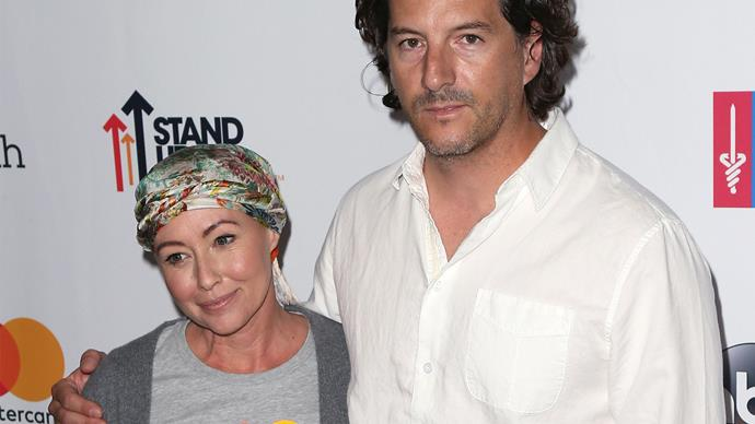 Shannen Doherty and husband Kurt