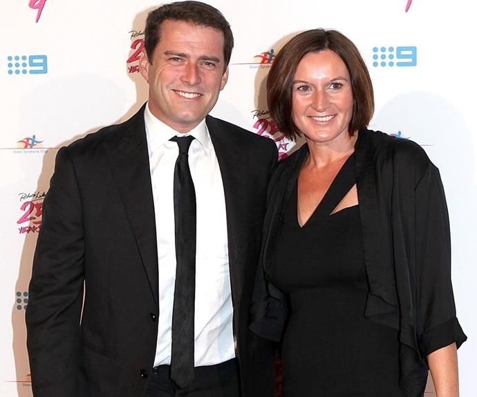 Karl's first wife Cassandra Thorburn made sure he was always immaculately presented. *(Image: Getty Images)*