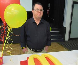 This Aussie legend has notched up 30 years working at Maccas!