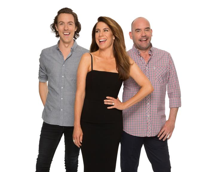 Kate Ritchie, Tim Blackwell and Marty Sheargold