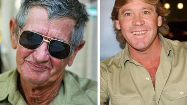 Bob Irwin's emotional book launch