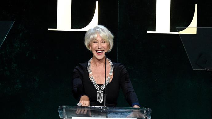 Helen Mirren shares her top 5 tips for women