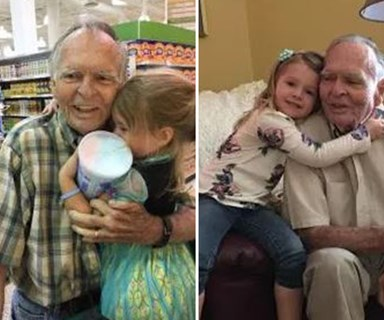 Little girl befriends lonely old man, heals his broken heart