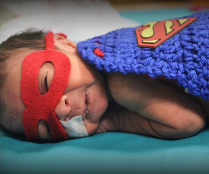 Nurse dresses NICU babies in costumes for Halloween