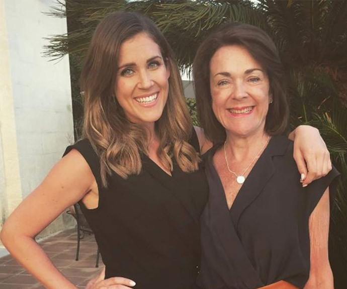 Just hours after *The Bachelorette* finale aired, Georgia had to say goodbye to her mum, Belinda.