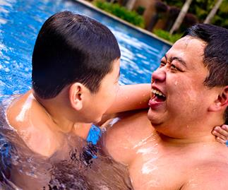Chubby dads are more attractive to women, researcher says