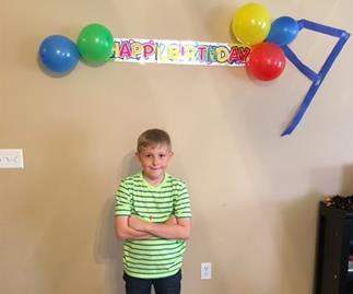 Birthday boy gets the surprise of his life after no-one shows up to his party