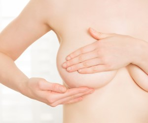 The first sign of breast cancer isn't always a lump