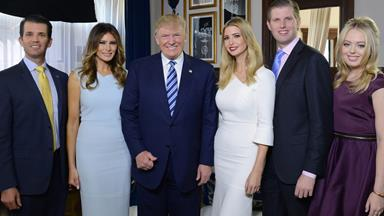 Trumpnation: Meet the new First Family