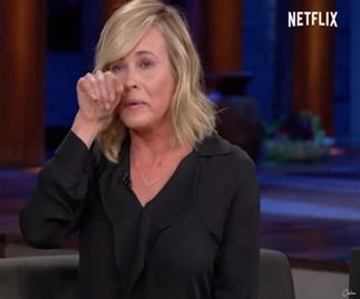 Chelsea Handler's teary TV breakdown over Hillary loss