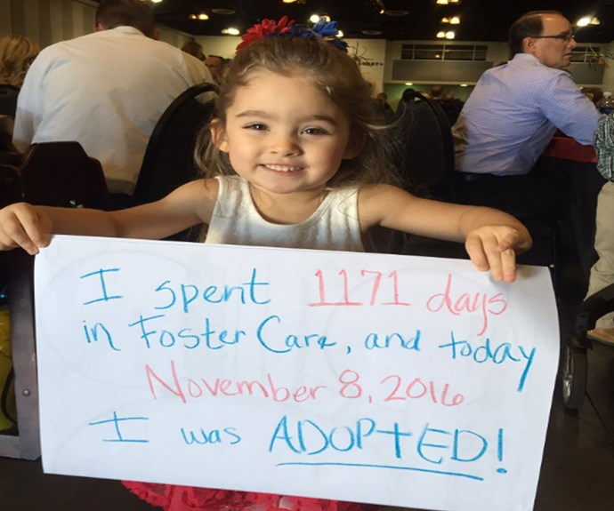 Teen's celebration of adopted siblings is adorable