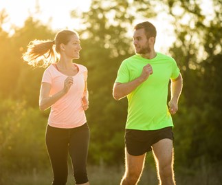 Male vs female, running, athletics, health