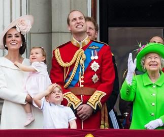 British Royal Family at Buckingham Palace