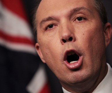Peter Dutton says settling Lebanese refugees was a 'mistake'