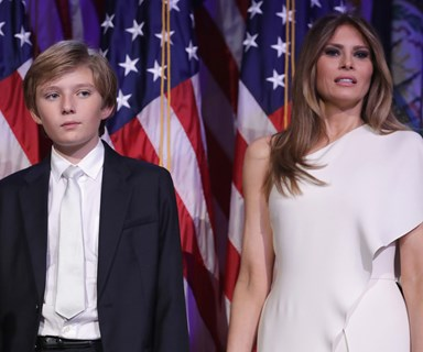 The legitimate reason why Melania and Barron Trump won't move into the White House