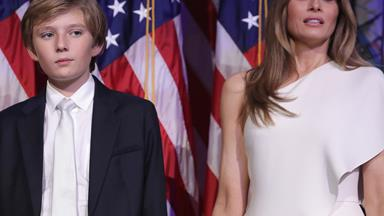 The legitimate reason why Melania and Barron Trump won't move into the White House