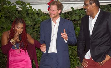 """Antiguan Prime Minister teases Prince Harry about his """"honeymoon"""" with Meghan Markle"""
