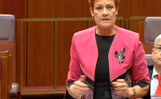 """Pauline Hanson claims she's a victim of """"reverse racism"""""""