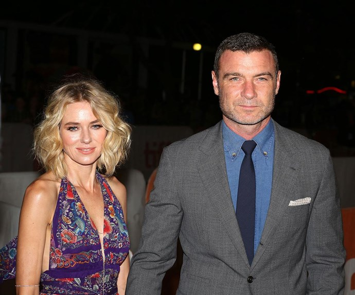 While Naomi moved on with ex-partner, Liev Schreiber.