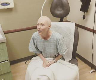 Shannen Doherty shares her first day of radiation treatment