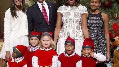 Inside Obama's last White House Christmas