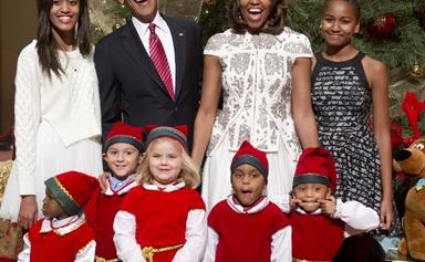 The Obamas' amazing last Christmas in the White House