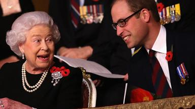 You can buy a sweet letter from The Queen to Prince William!
