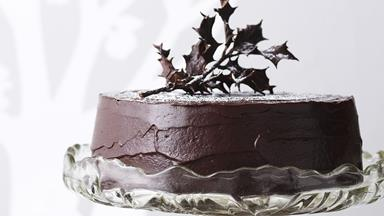 15 show-stopping chocolate Christmas cake recipes