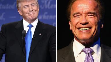 Job swap: Arnold Schwarzenegger set to be the new Donald Trump