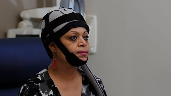 Scalp cooling cap prevents cancer hair loss