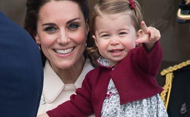 The sweet gift in Princess Charlotte's nursery