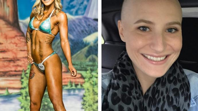 Bikini competitor on how her ovarian cancer journey has changed her body
