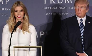 Ivanka Trump is auctioning off a coffee date with herself for an astronomical rate