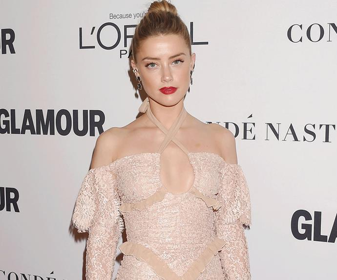 Amber Heard speaking out against domestic violence