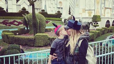 Hilary Duff slammed for kissing her four-year-old son on the lips