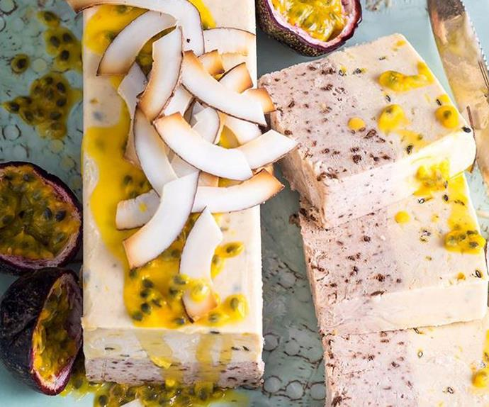 fruit semifreddo