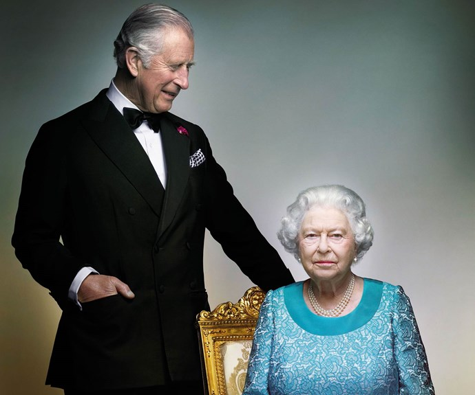 The Queen and Prince Charles over the years
